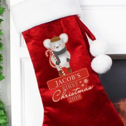 1st Christmas Mouse Stocking Thumbnail