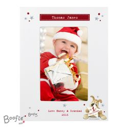 Boofle My 1st Christmas Photo Frame  Thumbnail