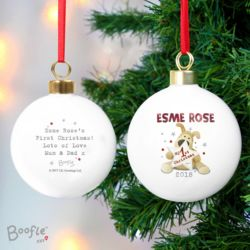 Boofle 1st Christmas Bauble Thumbnail